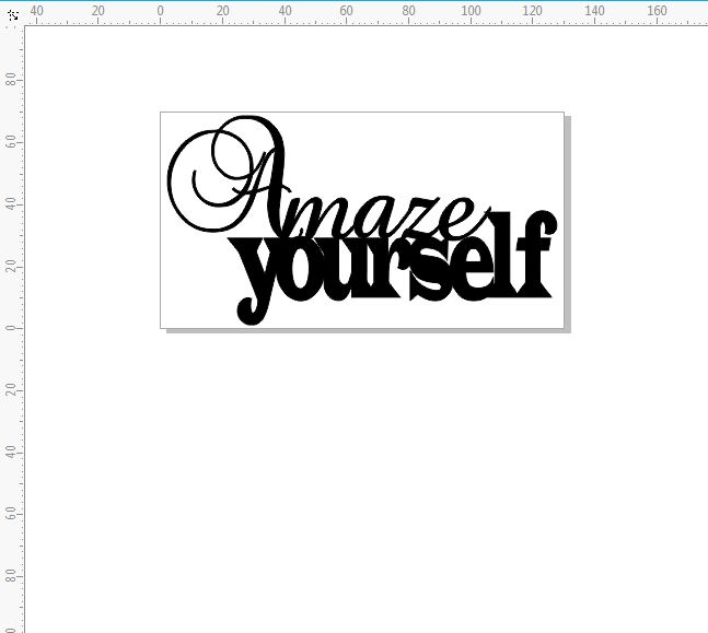 Amaze yourself 126 x 69 mm